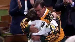 'We love you': Humboldt MP delivers touching tribute to Broncos in House of Commons
