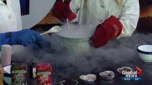 Get Sparked: liquid nitrogen ice cream