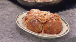Saturday Chef: Pepino's Spaghetti and Meatballs
