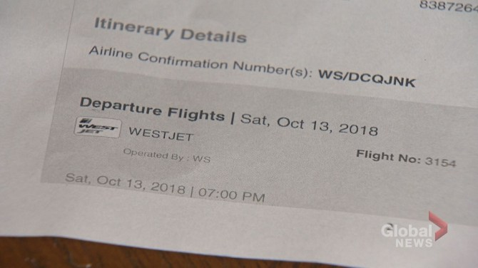 Calgary woman warns about booking airline tickets online following 'travel nightmare'