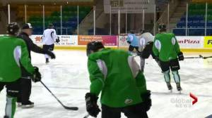 Raiders face Saskatoon Blades on home ice in Prince Albert