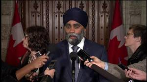 No military action can lead to a solution in Syria: Sajjan