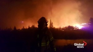 Alberta firefighter recalls front-line battle against Kenow Wildfire