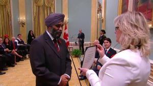 Harjit Singh Sajjan named Minister of National Defence