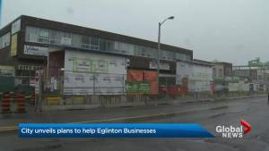 City of Toronto unveils discounts, initiatives to bring business back to Eglinton Avenue