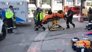 Scenes of devastation, confusion after van strikes pedestrians in north Toronto