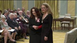 Meeka Walsh is inducted into the Order of Canada