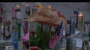 Candlelight vigil held in Las Vegas 1 week after mass shooting