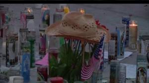Candlelight vigil held in Las Vegas 1 week after mass shooting