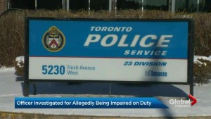 Toronto police officer allegedly smokes cigars and drinks alcohol belonging to a dead man