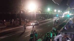 Raw video: People seen running after truck drives into crowd in France; at least 70 dead
