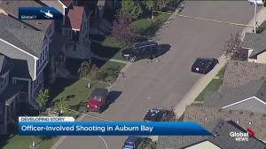 Police shooting in Auburn Bay