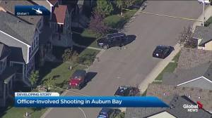 Police shooting in Auburn Bay