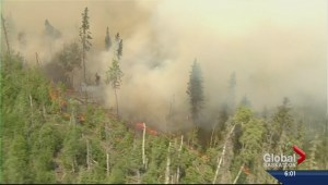 Premier tours wildfire zone in northern Saskatchewan