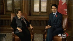 Trudeau meets with only surviving Canadian passenger of MS St Louis ahead of apology