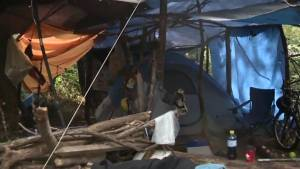 Surrey explores options on moving tent city