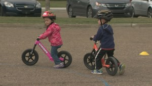 The way kids learn to ride bikes seems to be changing