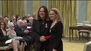 Great Big Sea's Alan Doyle gives a wink during Order of Canada honours