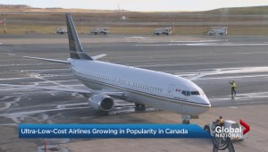 No-frills airlines soaring in popularity in Canada