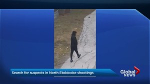 Toronto police release images of suspect wanted in fatal shooting of Dwayne Vidal