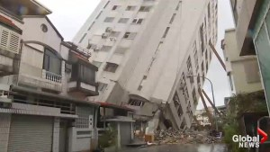 Desperate search for survivors continues in Taiwan following powerful earthquake