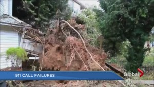 Some 911 calls failed during massive windstorm