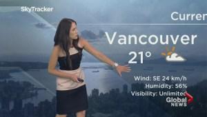 BC Evening Weather Forecast: Aug 2