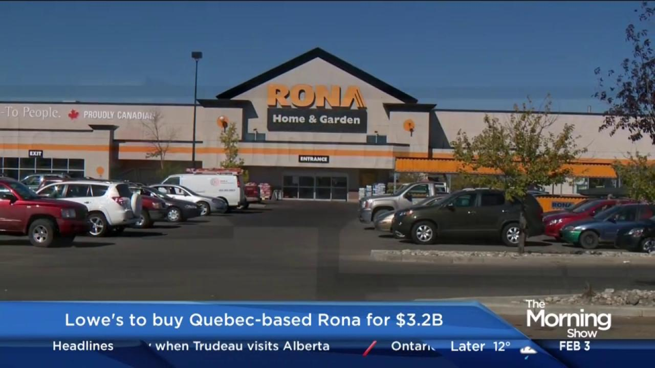 Lowe's shutting down two RONA store in northern Ontario, plus a Lowe's