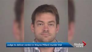Judge to deliver decision in trial of Dellen Millard, accused of killing his father