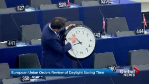 European parliamentarians debate criticism of Daylight Saving Time