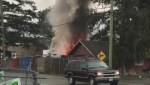 Chilliwack homeless storage building fire