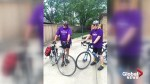Trio bikes from Kansas to Winnipeg to shed light on eating disorders