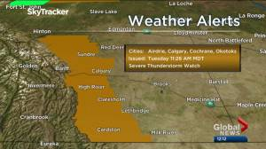 Calgary afternoon weather forecast: Tuesday, June 18, 2019