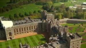 Windsor transforms to host Harry and Meghan's big day