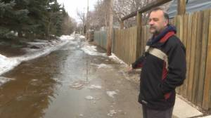 St. James residents frustrated over how back alley flooding is being handled