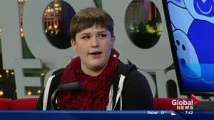 Stollery Children's Hospital chronic pain clinic helps improve Edmonton teen's quality of life