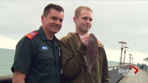 Fisherman in UK nearly dies after fish jumps down throat