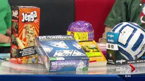 630 CHED Santas Anonymous preparing presents for Edmonton kids