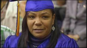 Chicago mother graduates in place of son killed in accident