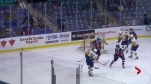Saskatoon Blades blank Edmonton Oil Kings 5-0
