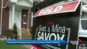 Changing mortgage rules not cooling hottest markets