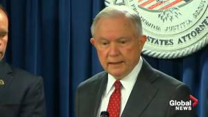 Jeff Sessions defends Rod Rosenstein in impeachment move
