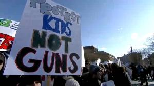 U.S. House of Representatives pass 'Stop School Violence Act' as students walk out of class across country