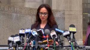 Lawyer for Weinstein accuser says dropped charges 'does not invalidate' claims