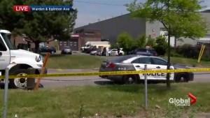 Suspect killed, Toronto cop injured in Scarborough shooting