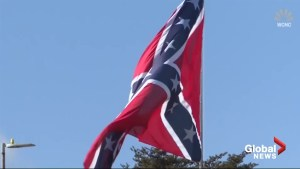 Giant 'mega' Confederate flag now being flown in North Carolina