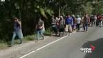 Second migrant caravan heads toward Mexico border