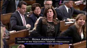 Rona Ambrose asks Prime Minister Trudeau if he will 'ever fight' against ISIS