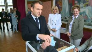European leaders, candidates vote in EU election