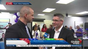 New Brunswick election: People's Alliance leader Kris Austin calls win 'fantastic'